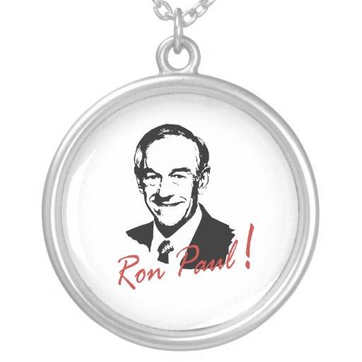RON PAUL Autographed Pictur Personalized Necklace