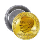"Ron Paul ""Banned"" Gold Liberty Dollar... Button!"