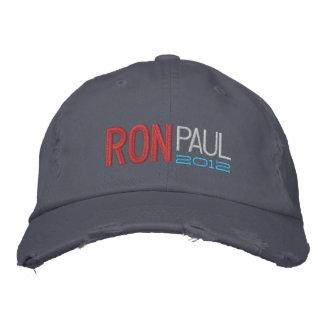 Ron Paul bordó el casquillo Gorra De Beisbol