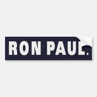 RON PAUL BUMPER STICKERS