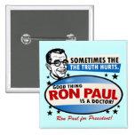 Ron Paul Campaign Button Buttons