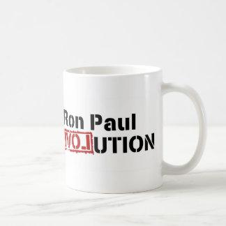 Ron Paul Campaign For Liberty Revolution Classic White Coffee Mug