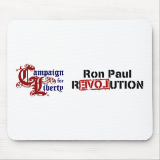 Ron Paul Campaign For Liberty Revolution Mouse Pad