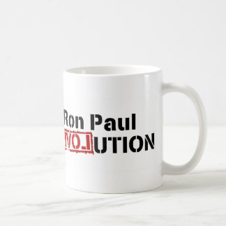 Ron Paul Campaign For Liberty Revolution Classic White Coffee Mug