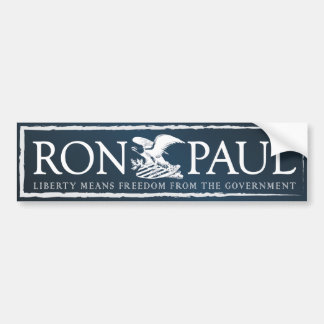 Ron Paul Car Bumper Sticker