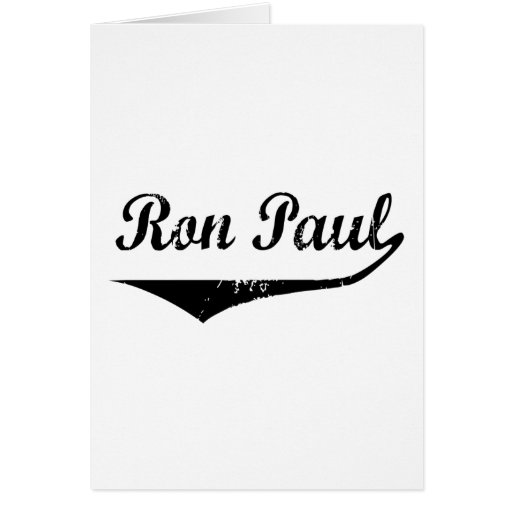 Ron Paul Card