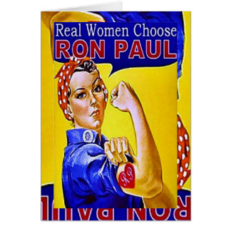 Ron Paul Stationery Note Card