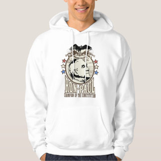 Ron Paul Champion Of The Constitution Hoodie