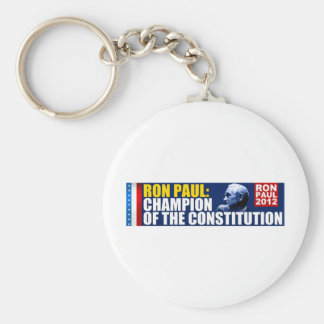 Ron Paul: Champion of the Constitution Keychain