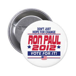 Ron Paul Change Pinback Button
