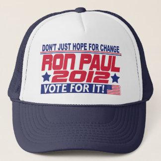 Ron Paul Change Trucker Hat