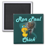 Ron Paul Chick #3 Refrigerator Magnet
