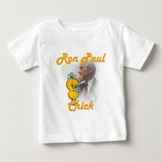 Ron Paul Chick #4 Baby T-Shirt