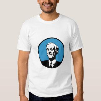 Ron Paul Circle Blue Tee Shirt
