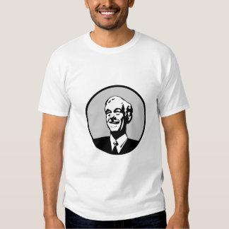 Ron Paul Circle Gray Tee Shirt