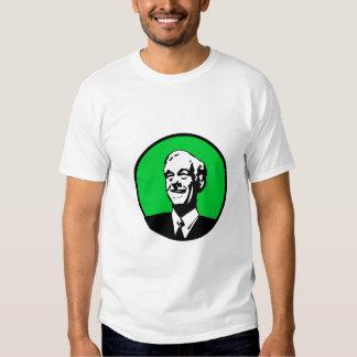 Ron Paul Circle Green Tee Shirt
