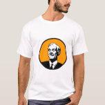 Ron Paul Circle Orange T-Shirt