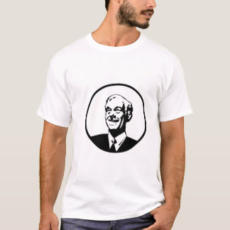 Ron Paul Circle White T-Shirt
