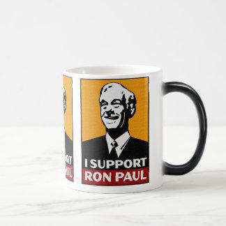 Ron Paul Coffee/Tea Cup 11 Oz Magic Heat Color-Changing Coffee Mug