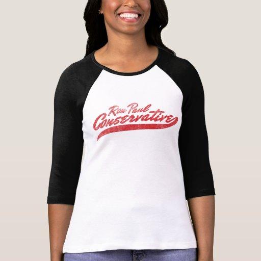 Ron Paul Conservative T-Shirt
