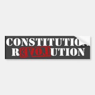 Ron Paul Constitution Revolution Bumper Sticker