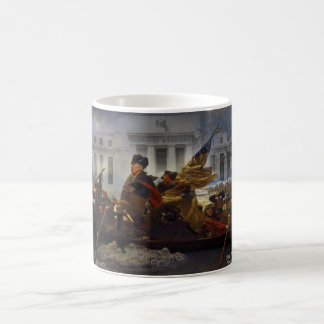 Ron Paul Crossing the Potomac Classic White Coffee Mug