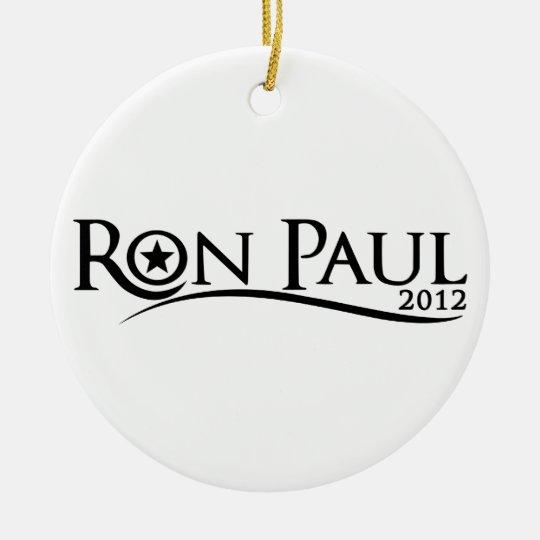 Ron Paul Curve Ornament