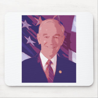 Ron Paul Cut Up Mouse Pad