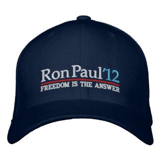 Ron Paul de gorra del estilo 12 campañas Gorra De Béisbol