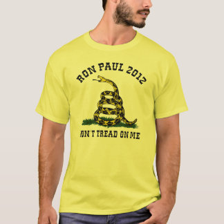 Ron Paul Don't Tread on Me T-Shirt