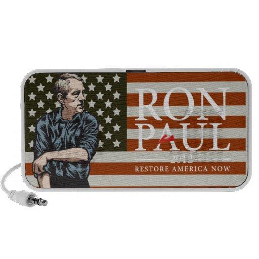 Ron Paul Doodle Speakers