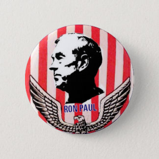 Ron Paul Eagle & Stripes button