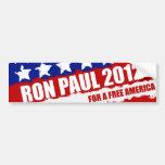 Ron Paul - el cambio que necesitamos Pegatina De Parachoque