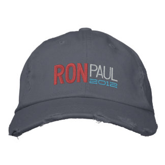 Ron Paul Embroidered Cap