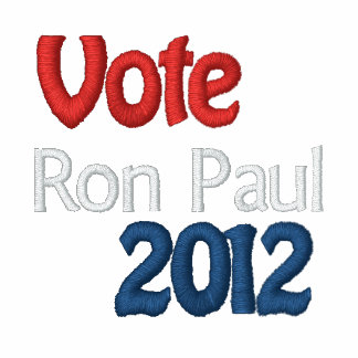 Ron Paul Embroidered Women's Top