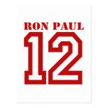 RON PAUL EN '12 POSTAL