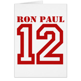 RON PAUL EN '12 TARJETÓN