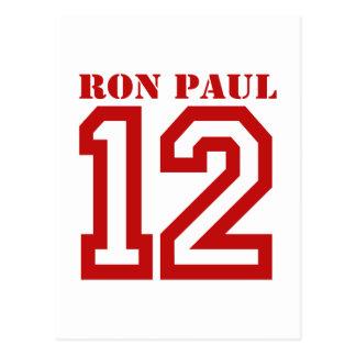 RON PAUL EN '12 TARJETA POSTAL