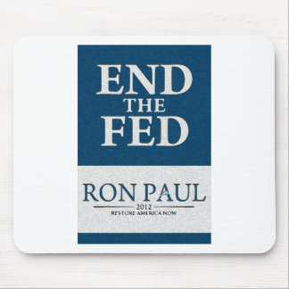 Ron Paul End the Fed Banner Mouse Pad