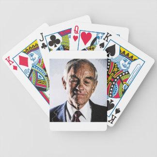 ron paul engraved portrait poker cards