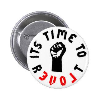Ron Paul es hora de rebelar botón Pin