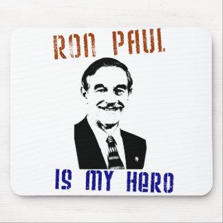 Ron Paul es mi héroe Alfombrilla De Ratón