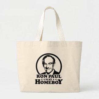 Ron Paul es mi Homeboy Bolsas