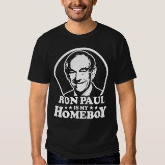 Ron Paul es mi Homeboy Poleras