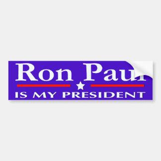 Ron Paul ES MI pegatina para el parachoques del PR Etiqueta De Parachoque