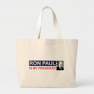 Ron Paul es mi presidente Bolsa De Mano