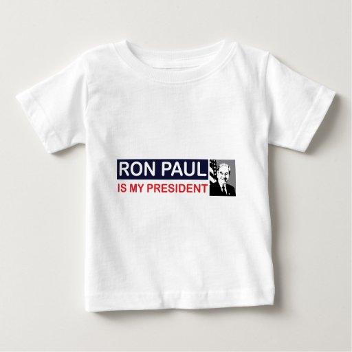 Ron Paul es mi presidente Playeras