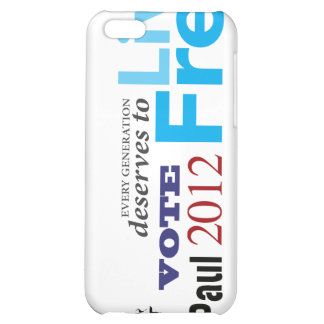 Ron Paul Every Generation Deserves To Live Free iPhone 5C Covers