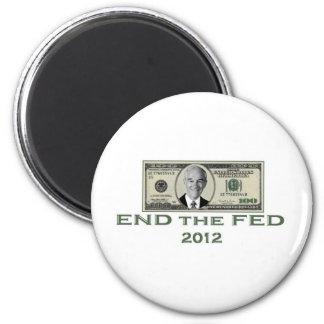 Ron Paul extremo el FED Imanes Para Frigoríficos
