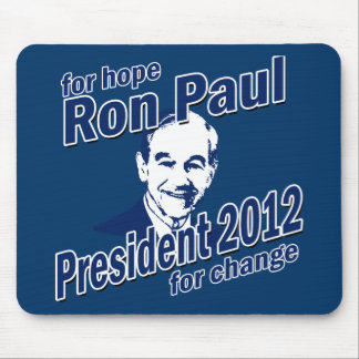 Ron Paul for Hope and Change Mouse Pad